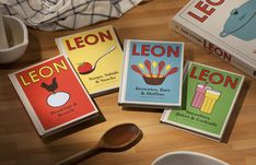 """Leon"", books of recipes ▶ 7€"