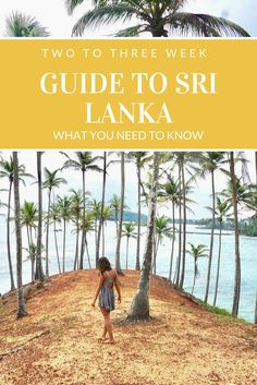 Everything you need to know about spending two to three weeks in Sri Lanka! Your go-to itinerary on what to do, where to stay, and what to do!