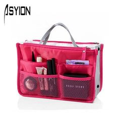 ASYION Hot Sale Makeup Bag Top Nylon Casual Cosmetic Bags Multi Function Storage Organizer Ladies Travel Toiletry Bolsas XX5403 #>=#>=#>=#>=#> Click on the pin to check out discount price, color, size, shipping, etc. Save and like it!