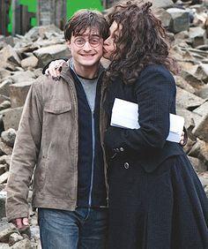 Daniel Radcliffe and Helena Bonham Carter