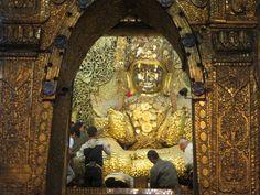 Buddha Mahamuni Pagode Mandalay, Myanmar Mandalay, Buddhism, Blog, Wings, Tower, Album, Travel, Asia, Nice Asses