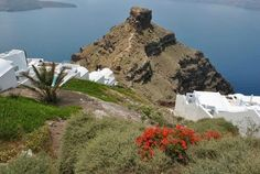 Hiking to Skaros in Imerovigli - Ayoba Santorini your choice of accommodation in Santorini