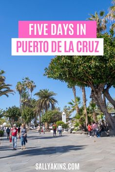 [Ad] If you're looking for a holiday with sunny weather, delicious food and amazing scenery, then Puerto de la Cruz in Tenerife (Canary Islands) may be the perfect destination. Click through to find out why you should visit Puerto de la Cruz! #PuertodelaCruz #Tenerife #Spain #CanaryIslands