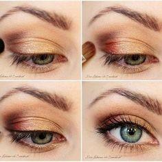Enlarge eyes!