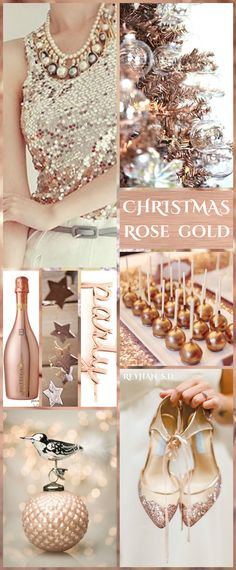 '' Christmas ~ Rose Gold '' by Reyhan S.D