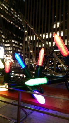 Manhattan Christmas Lights