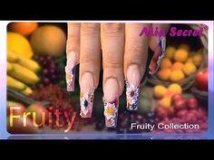 Colección de Acrílicos de 3D FRUITY   Mia Secret - YouTube