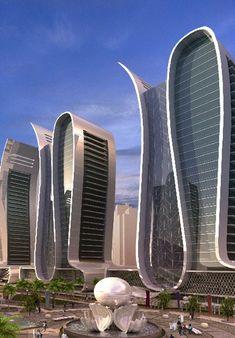 Marmooka City in United Arab Emirates, futuristic architecture, future building, future architecture, futuristic building, UAE, futuristic design, concept