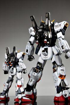 Gundam Model, Guy, Building, Artwork, Scale Models, Painting, Badass, Robot, Space