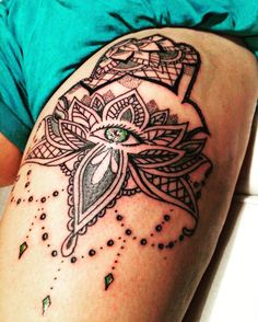 Fatima hand tattoo!