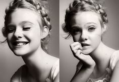 She is too cute for her or anyone elses own good. Elle Fanning