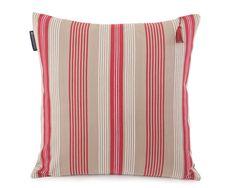 Lexington Cushion Holiday Striped Sham 50 x 50 cm beige