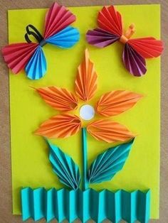 This page includes a lot of folding paper crafts for kıds,preschoolers,kindergarten. folded paper caterpillar craft for kids paper toys for kids paper folding skills how to make origami for kids easy origami: models especially for beginners and kids Kids Crafts, Summer Crafts, Toddler Crafts, Projects For Kids, Diy And Crafts, Arts And Crafts, Paper Crafts, How To Make Origami, Origami Easy