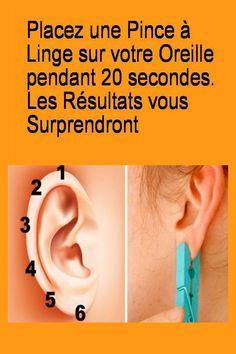 Placez une pince à linge sur votre oreille pendant 20 secondes. Les résultats vous surprendront #Linge #Resultat #Oreille #Pince #Ondes