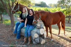 """Proprietors Angela and Karen - Napa Valley Horse Company. A visitor said, """"My wife and I did a Vineyard Tour with Napa Valley Horse Company a few weeks ago. They were fantastic! It took about 45 minutes to ride through the vineyards and then we were able to ride the horses more in their indoor arena. The girls that did the tour with us were very friendly and knowledgeable. A must do on your trip to Napa!"""""""