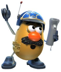 Mr. Potato Head cop