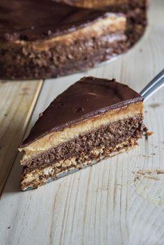 Torcik czekoladowo orzechowy. - My Blog