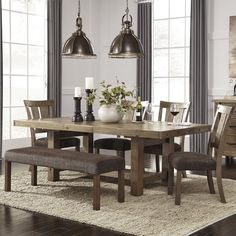 Found it at Wayfair - Etolin Extendable Dining Table