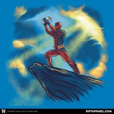 Circle of Strife T-Shirt - Deadpool T-Shirt is $11 today at Ript!