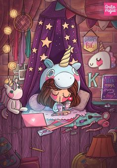 New Ideas For Party Girl Illustration Drawings Unicornios Wallpaper, Kawaii Wallpaper, Disney Wallpaper, Wallpaper Ideas, Artistic Wallpaper, Amazing Wallpaper, Unicorn Drawing, Unicorn Art, Unicorn Quotes