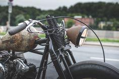 harley davidson knucklehead custom