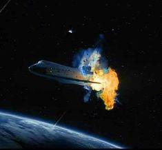 Shuttle Columbia Explosion 1