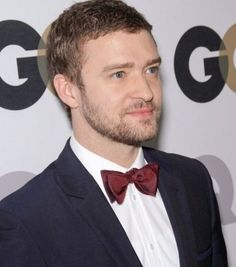 Justin Timberlake knows bow ties are cool :)