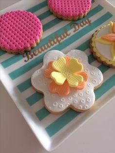 Spring vanilla&cinnamoncookies