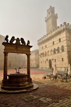 Montepulciano, Tuscany, Italy. Montepulciano I miss you so.