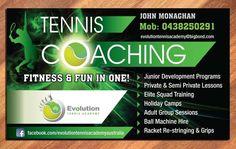 Newspaper Ad design from YourDesignPick for Evolution Tennis Academy.