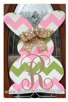 PRODUCT DETAILS:  This sign/door hanger is cut from high quality wood, hand-painted, embellished and sealed for indoor/outdoor use. Back of