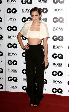 premios GQ men of the year hombre del ano 2013  - Emma Watson - Balenciaga