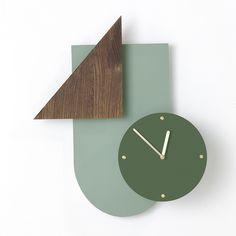 Wall Wonder Clock in Mint design by Ferm Living Mint Walls, Loft Furniture, Modern Loft, Organic Modern, Inspiration Wall, Home Wall Decor, Dot And Bo, Modern Interior Design, Objects