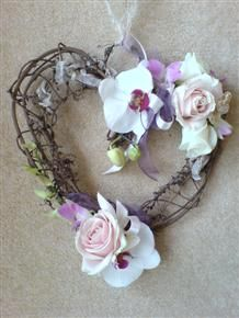 Image detail for -Decorated with Phalaeonopsis Orchids and Sweet Avalanche Roses, these ...