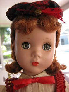 """~ Madame Alexander """"Kathy"""" Doll With Maggie Face ~"""