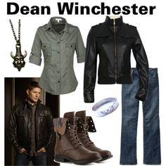 fandom supernatural | Fandom. Your Fashion. (Character: Dean Winchester Fandom: Supernatural ...