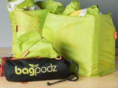 Reusable Bag Set of 10 by BagPodz