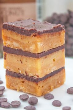 The best part about these moist Paleo bars is how simple they are to prep...and then immediately eat. Done and done.  Get the recipe at The Big Man's World.    - Redbook.com