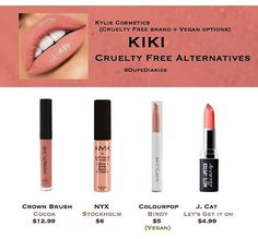 "WEBSTA @ dupediaries - Was anyone else not fast enough at clicking to get the KKW × Kylie Cosmetics collection? These are just a few alternatives I think would be close to the shade ""KiKi."" Regardless they're all super gorgeous and really comfortable. (Each of the products above do transfer including ""KiKi"") ---------------------------------------#DupeDiaries #TreasuredBeauty #makeupcollection #makeup #beauty #blogger #beautyblog #bb #makeuplover #makeupjunkie #makeupartist #mua…"