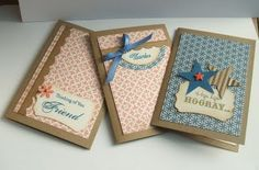 Birthday cards - great workshop idea to build around just Elemental.    www.sunshineandpolkadots.com