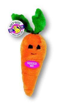 Aspen Soft Bite Toy Med Carrot $2.86