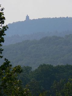 Home <3 (Mohonk Mtn. from New Paltz)