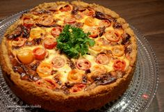 Finnish Recipes, Sweet And Salty, Hawaiian Pizza, Vegetable Pizza, Food Inspiration, Quiche, Food And Drink, Bread, Cooking