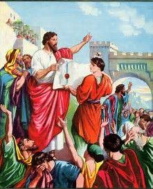 Afbeeldingsresultaten voor nehemiah calls isrealites to rebuild wall