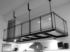 interior metal mezzanine | 11th Street Mezzanine | Caliper Studio