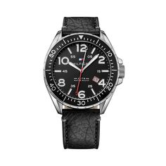 Tommy Hilfiger Men's 1791131 Casual Sport Analog Display Quartz Black Watch * Check out this great product. Tommy Hilfiger, Sport Casual, Omega Watch, Quartz, Watches, Black, Display, Amazon, Model