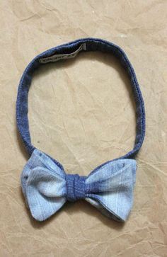 Bow Tie-Ombre Denim   Vincent Reeve Clothing I don't care if its a guys product, im gonna get it!