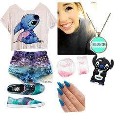 Stitch by hannahchristmann on Polyvore featuring polyvore fashion style Vans