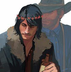 Dutch Bros, Red Dead Redemption Game, Dutch Shepherd Dog, John Marston, Braids Step By Step, Read Dead, Dutch Women, Rdr 2, Drawn Art