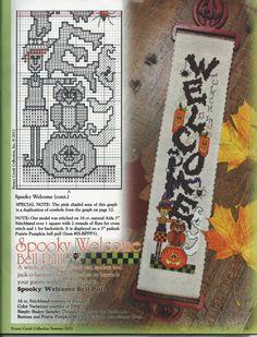 Counted Cross Stitch Patterns, Cross Stitch Embroidery, Embroidery Patterns, Halloween Cross Stitches, Halloween Quilts, Quilt Stitching, Cross Stitching, Fall Cross Stitch, Cross Stitch Collection